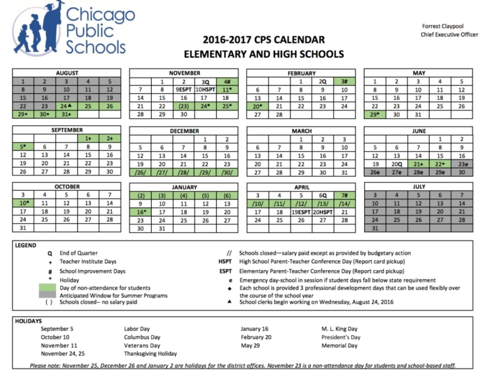 Cps Calendar.2016 2017 Cps Calendar News And Announcements Mcclellan